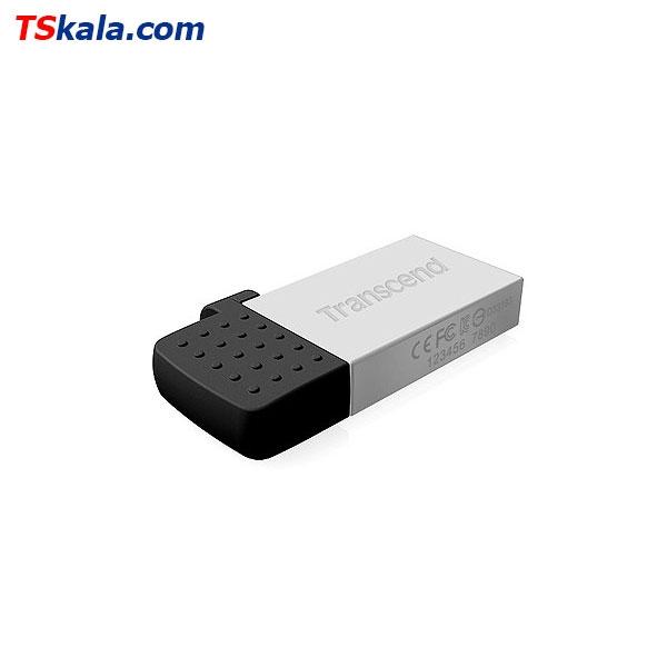 فلش مموری ترنسند Transcend JetFlash 380S OTG USB2.0 32GB