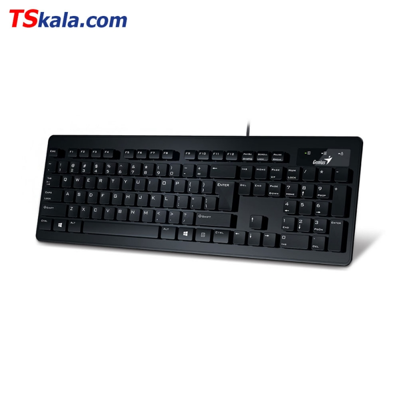 کیبورد جنیوس Genius SlimStar 130 Wired Keyboard