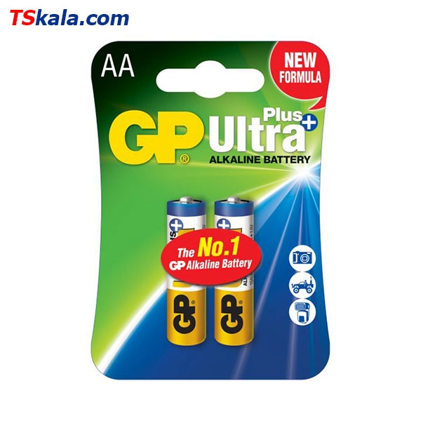 باتری قلمی جی پی GP LR6 Ultra Plus Alkaline AA 2x