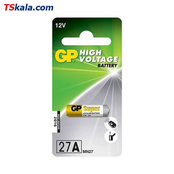 باتری ریموت کنترل جی پی GP 27A Remote Control Battery 1x
