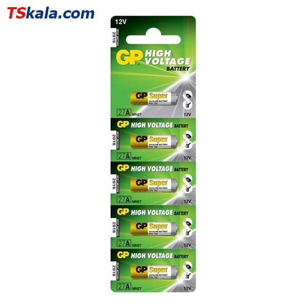 باتری ریموت کنترل جی پی GP 27A Remote Control Battery 5x