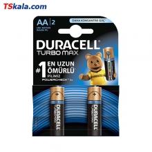 باتری قلمی دوراسل DURACELL LR6 TURBO MAX Alkaline AA 2x