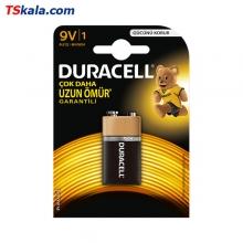 باتری کتابی 9 ولت  DURACELL 6LR61 Basic Alkaline Battery 9V 1x