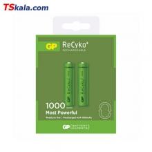 باتری نیم قلم قابل شارژ جی پی GP HR03 1000mAh Ni-MH AAA 2x
