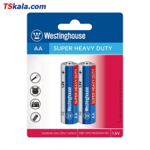 باتری قلمی وستینگهاوس Westinghose R6P Super Heavy Duty AA 2x