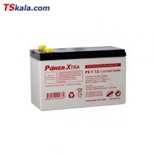 باطری پاوراکسترا Power-Xtra 12V 7AH Sealed Lead Battery
