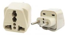 مبدل 3 شاخه به دو شاخه Universal Plug Adapter