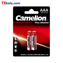 باتری نیم قلمی کملیون Camelion LR03 Plus Alkaline AAA 2x
