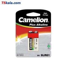 باتری کتابی 9 ولت کملیون Camelion 6LR61 Plus Alkaline 9V 1x