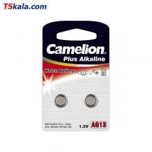 باتری ساعت کملیون Camelion 357|LR44 Alkaline 2x