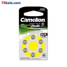 باتری سمعک کملیون Camelion ZA10 Hearing Aid 6x