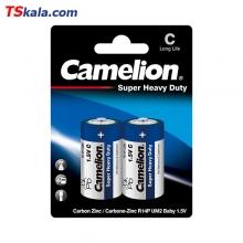 باتری سایز متوسط Camelion R14P Super Heavy Duty C 2x