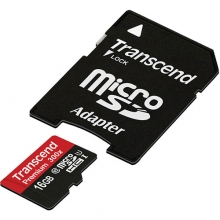 میکرو اس دی کارت Transcend microSDHC Card UHS-I U1 C10 - 16GB