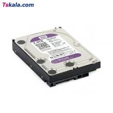 هارد دیسک اینترنال WD Purple Internal Desktop Hard Drive - 2TB