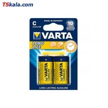 باتری سایز متوسط VARTA LR14 LONG LIFE Alkaline C 2x