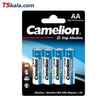 باتری قلمی کملیون Camelion LR6 Digi Alkaline AA 4x