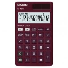 ماشین حساب کاسیو CASIO NJ-120D-RD Calculator