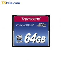 کارت حافظه سی اف Transcend CompactFlash Card 400x - 32GB