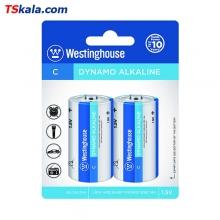 باتری سایز متوسط Westinghouse LR14 DYNAMO Alkaline C 2x