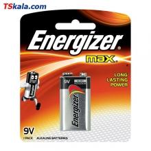 باتری کتابی 9 ولت Energizer 6LR61 max Alkaline 9V 1x