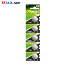 باتری سکه ای جی پی GP CR2032 Lithium Battery 5x