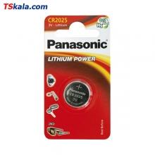 باتری سکه ای پاناسونیک Panasonic CR2025 Lithium Battery 1x