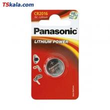 باتری سکه ای پاناسونیک Panasonic CR2016 Lithium Battery 1x