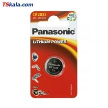 باتری سکه ای پاناسونیک Panasonic CR2032 Lithium Battery 1x